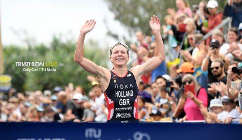 Sissons (NZL), Holland (GBR) grab victories at Mooloolaba ITU World Cup