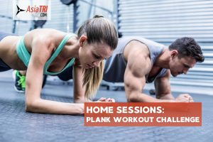 Home Sessions:  Plank Workout Challenge