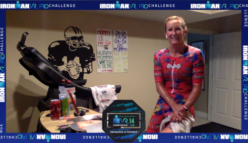 MEREDITH KESSLER (USA) AND MIKI MØRCK-TAAGHOLT (DNK) EMERGE VICTORIOUS DURING THE HOKA ONE ONE IRONMAN VR14 PRO CHALLENGE WEEKEND