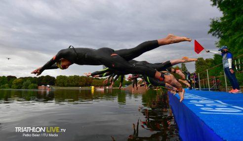 ITU: Highlights from the 2020 Hamburg Wasser World Triathlon