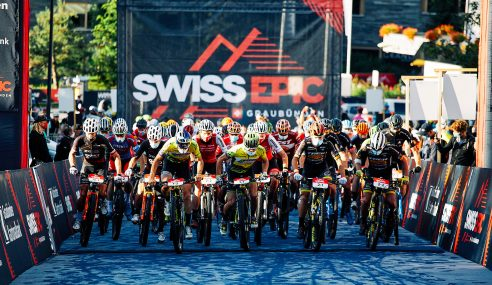 A Look Back at The Swiss Epic Mountain Bike Race that Marked the First Step in The Ironman Group's Return to Racing