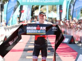 Max Neumann (AUS) and Amelia Watkinson (NZL) Claim Maiden IRONMAN Victories in Cairns