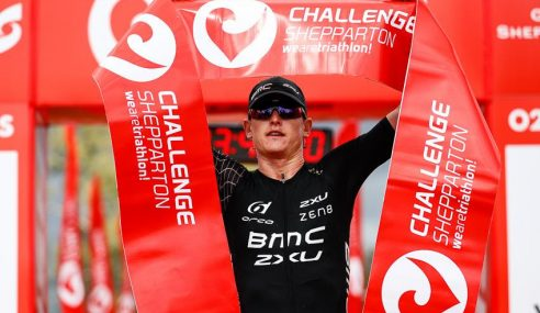 Strong running Max Neumann wins CHALLENGESHEPPARTON, Ellie Salthouse leads from start to finish