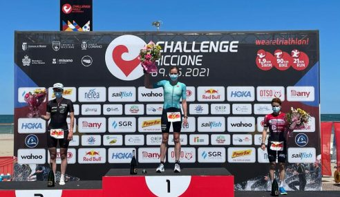 Outstanding Thomas Steger claims victory Challenge Riccione, Sarissa de Vries shows her power once again