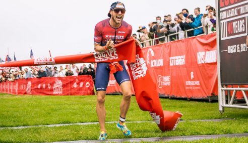 Olympian Ben Kanute and Emma Pallant-Browne Win 2021 Escape From Alcatraz Triathlon™