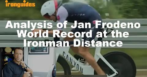 Analysis of Jan Frodeno World Record at the Ironman Distance