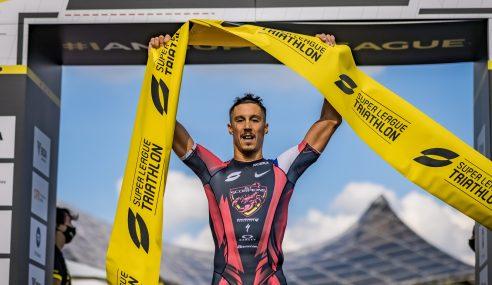 Luis (FRA), Learmonth (GBR) Victorious at Super League Triathlon Munich