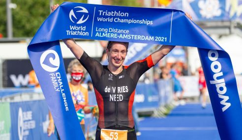 Records Fall and World Champions Crowned at World Triathlon Long Distance World Championships at Challenge Almere-Amsterdam