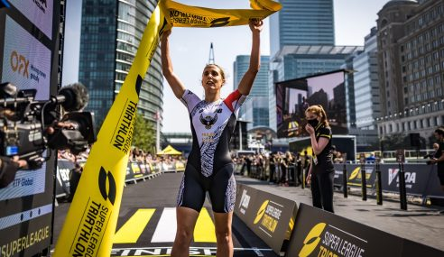 Learmonth Takes Home Win as Wilde Swoops in at 2021 Super League Triathlon London